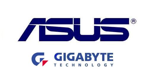 ASUStek и Gigabyte