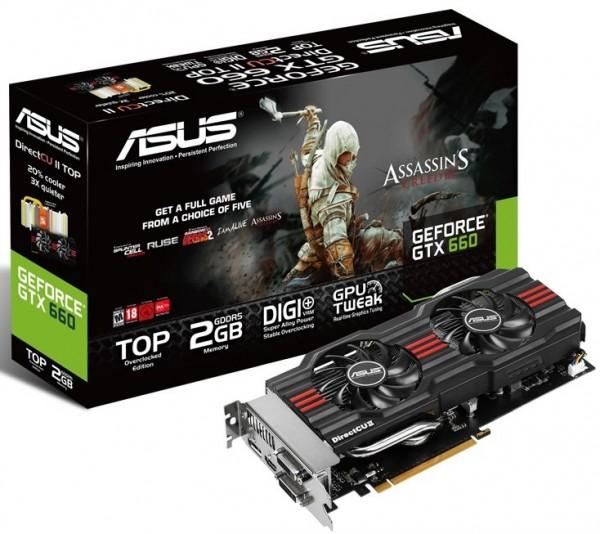 ASUS GeForce GTX 660 DirectCu II 2GB (GTX660-DC2TG-2GD5)