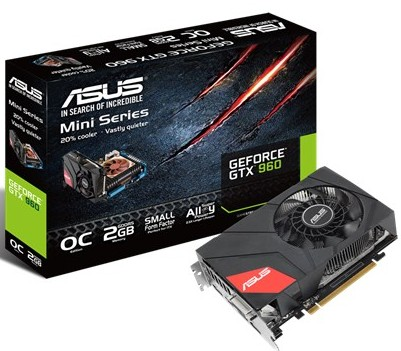 ASUS GeForce GTX 960 OC Mini (GTX960-MOC-2GD)