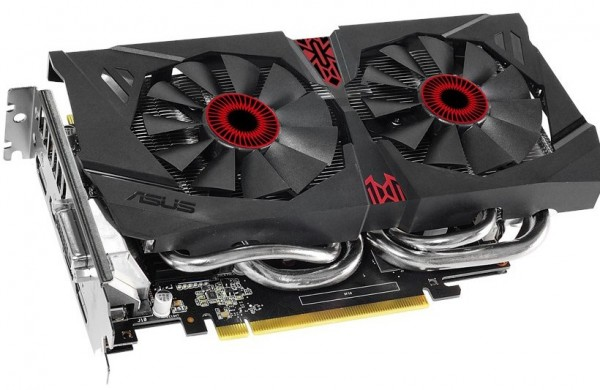ASUS GeForce GTX 960 STRIX 4 GB OC (STRIX-GTX960-DC2OC-4GD5)