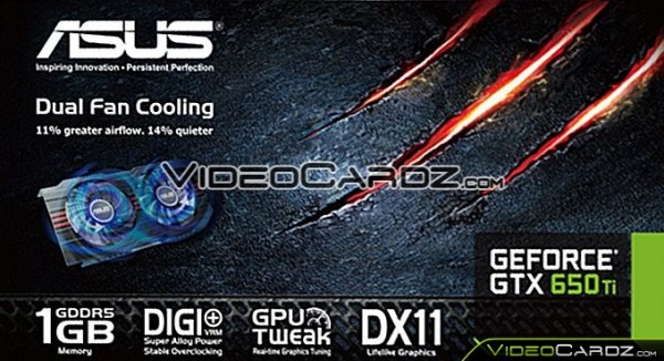 ASUS GeForce GTX 650 Ti