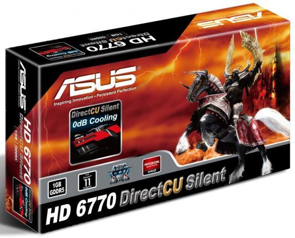 ASUS HD 6770 DirectCU Silent