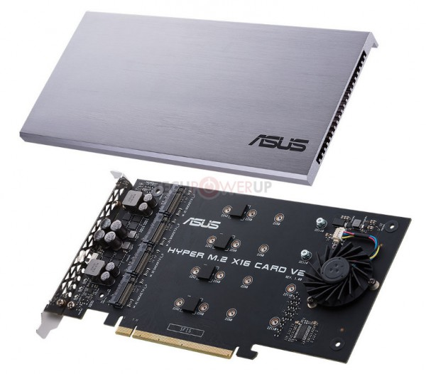 ASUS Hyper M.2 x16 Card V2