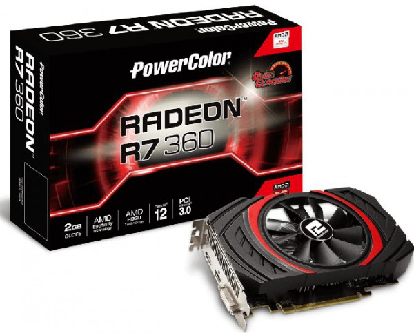 PowerColor PCS+ Radeon R7 360 (AXR7 360 2GBD5-DHEOC)