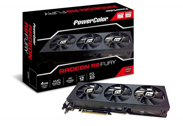 PowerColor Radeon R9 Fury (AXR9 FURY 4GBHBM-DH)