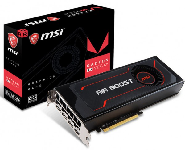 MSI Radeon RX Vega 64 Air Boost