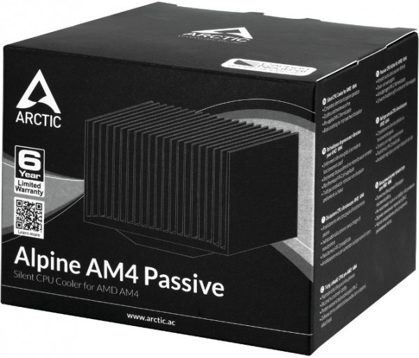 Arctic Alpine Passive AM4
