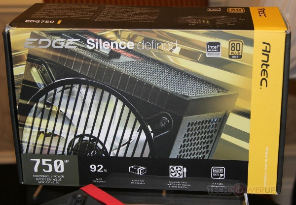 Antec EDGE Silence Defined 750 W