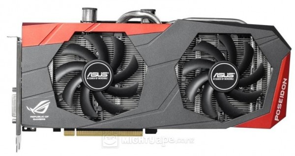 ASUS, GeForce, GTX 980, ROG POSEIDON