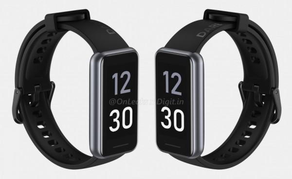 Смарт-браслет Realme Band 2 засветил на качественных рендерах обновленный дизайн