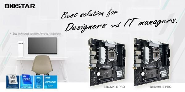Biostar B560MX-E PRO и B560MH-E PRO