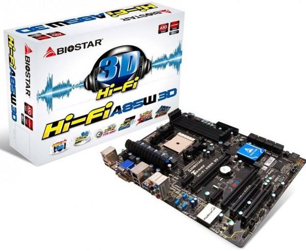 Biostar Hi-Fi A85W 3D