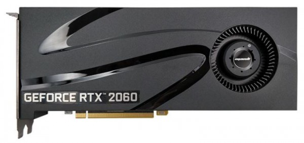 Manli GeForce RTX 2060 with Blower Fan
