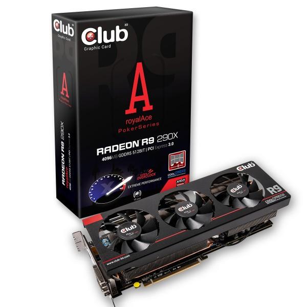 Club 3D Radeon R9 290X royalAce