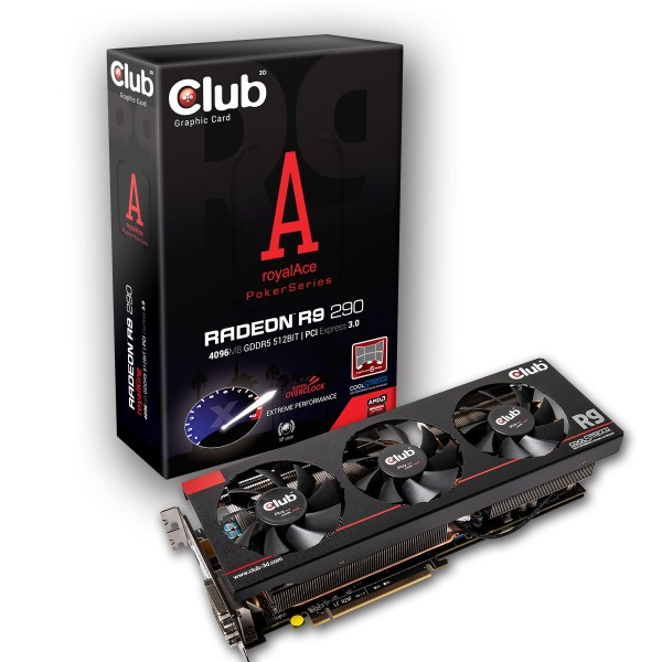 Club 3D Radeon R9 290 royalAce