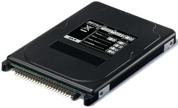 256 Гб SSD от Buffalo с интерфейсом PATA