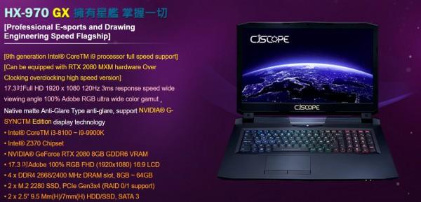 RTX 2080 MXM, RTX 2070 MXM, RTX 2060 MXM, GeForce, NVIDIA