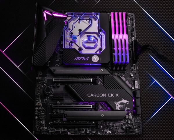 MSI MPG Z490 Gaming Pro Carbon EK X