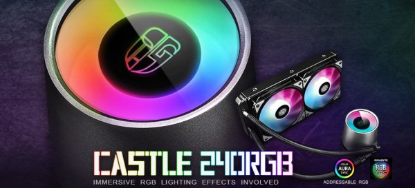 Deepcool Castle 240RGB и 280RGB