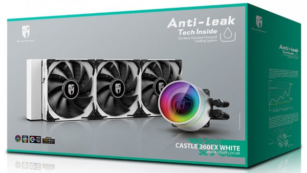 Deepcool Castle 360 EX White