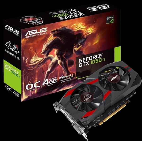 ASUS GeForce GTX 1050 Cerberus и GTX 1050 Ti Cerberus