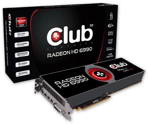 Club 3D Radeon HD 6990