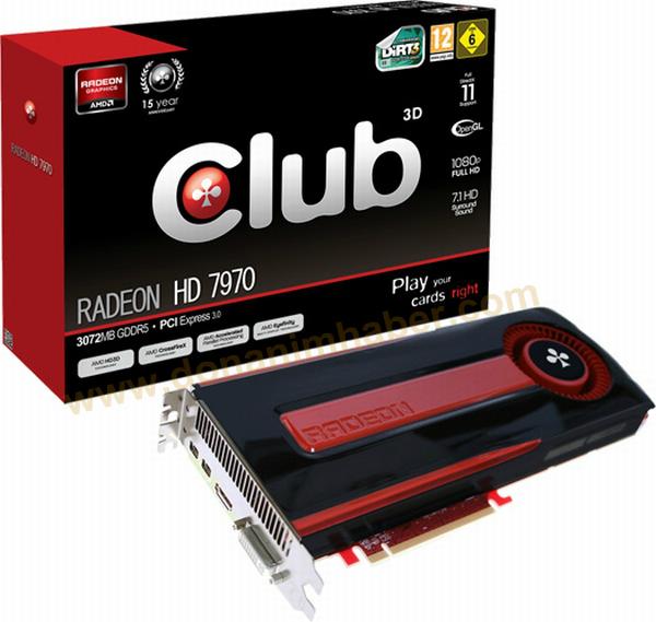Club3D Radeon HD 7970