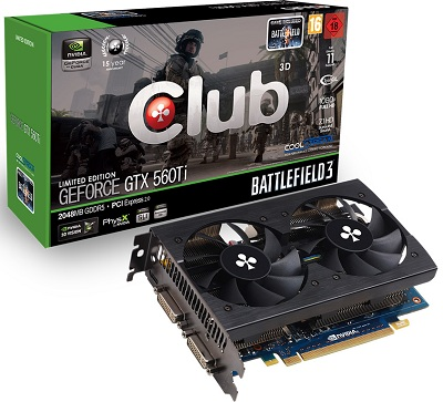 Club 3D GeForce GTX 560 Ti CoolStream