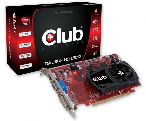 Club 3D Radeon HD 6570