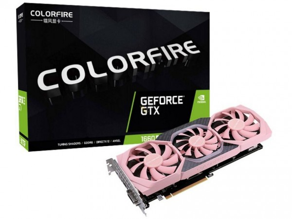 Colorfire GeForce GTX 1660 SUPER 6GB Vitality OC