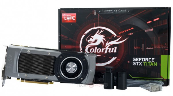 Colorful GeForce GTX Titan