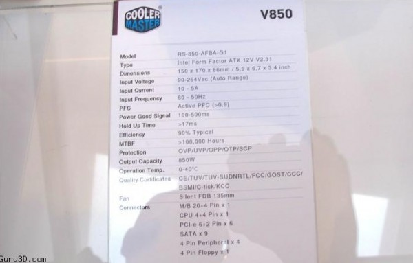 Cooler Master V Series