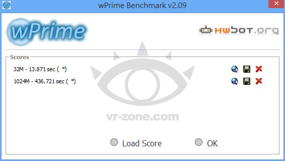 Intel Core i7-4800MQ WPrime