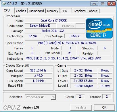 Core i7-3930K, Turn&Burn
