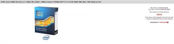 Core i7-4820K, i7-4930K и i7-4960X