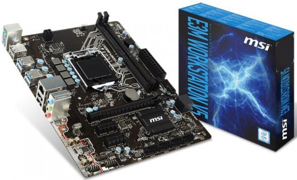 MSI E3M Workstation V5