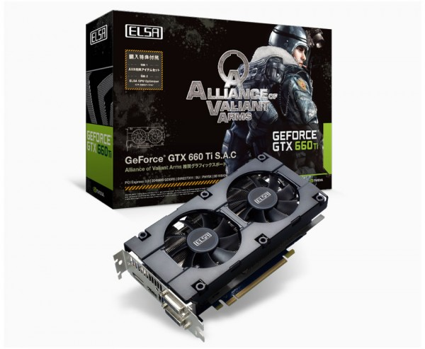 ELSA GeForce GTX 660 Ti S.A.C