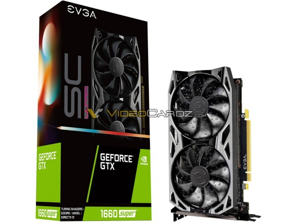 EVGA GeForce GTX 1660 SUPER SC Ultra (Black)