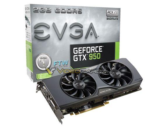 EVGA GTX 950 ForTheWin