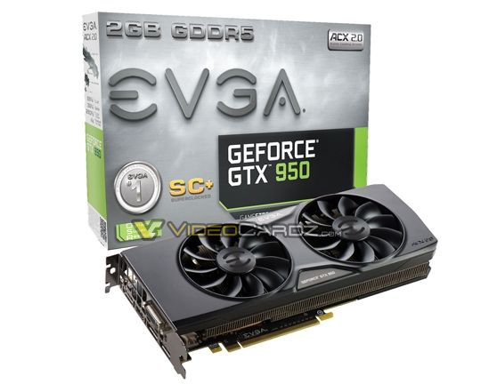 EVGA GeForce GTX 950 SuperClocked+