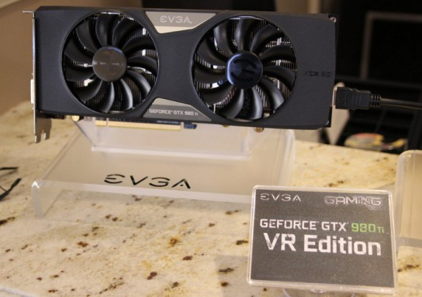 EVGA GeForce GTX 980 VR Edition