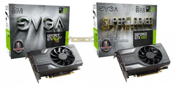 EVGA GeForce GTX 1060GTX 1060 Superclocked