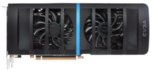 Видеокарта EVGA GeForce GTX 580 DS Superclocked