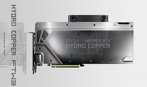 EVGA GeForce RTX 2080 Hydro Copper FTW3