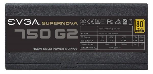 EVGA SuperNOVA 850 G2 и 750 G2
