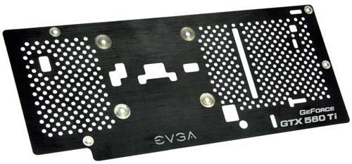 EVGA GTX 560 Ti Backplate