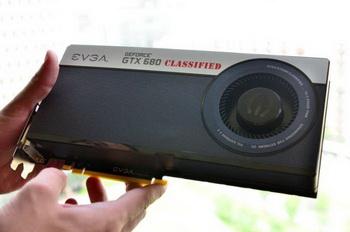EVGA GeForce GTX 680 Classified