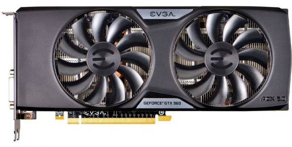 EVGA GeForce GTX 960 SSC (04G-P4-3966)
