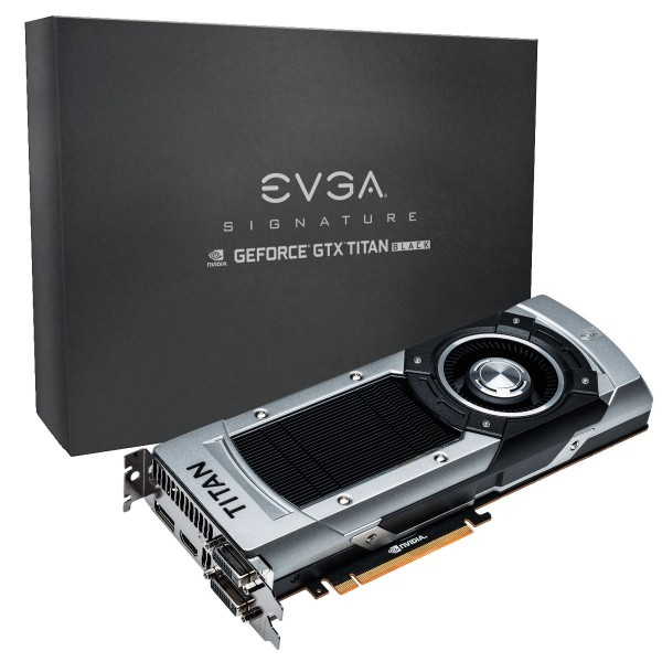 EVGA GeForce GTX Titan Black SC Signature