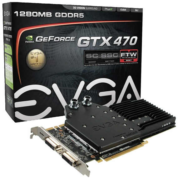EVGA GeForce GTX 470